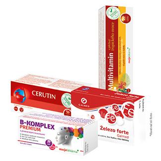 Vitaminový balíček za 2 odběry